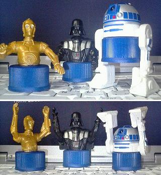 GET!!STAR WARS EPISODE�V SPECIAL BOTTLE CAPS